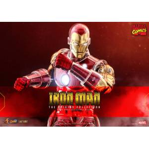 Comic Masterpiece DIECAST Marvel Comics 1/6 Iron Man [Hot Toys]