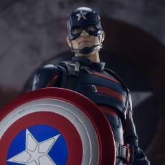 SH Figuarts The Falcon and the Winter Soldier - Captain America (John Walker) LIMITED EDITION [Bandai]