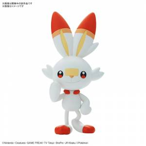 Pokemon Plamo Collection Quick!! 05 Scorbunny Plastic Model [Bandai]