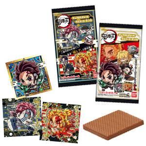 Demon Slayer: Kimetsu no Yaiba Diformed Sticker Wafer 4 20Pack BOX BOX (CANDY TOY) [Bandai]