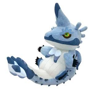 Monster Hunter Rise Deformed Plush Wind Serpent Ibushi [Plush Toy]