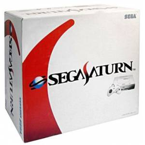 Sega Saturn White Model [Used Good Condition - with Box]