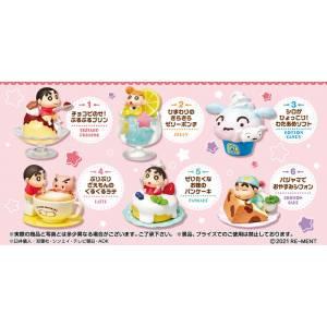 Crayon Shin-chan Ora to Manpuku Sweets 6Pack BOX CANDY TOY [Rement]