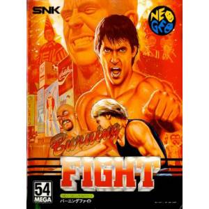 Burning Fight [NG AES - Used Good Condition]