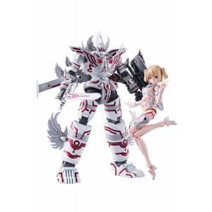 ACKS - GR-02 - Gattai Robot Atlanger - Ω Plastic Model [Aoshima]