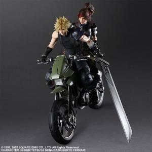 PLAY ARTS Kai Final Fantasy VII Remake - Jessie Rasberry Cloud & Bike SET [Square Enix]