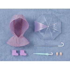 Nendoroid Doll: Outfit Set (Rain Poncho - Stripes) LIMITED EDITION [Nendoroid]