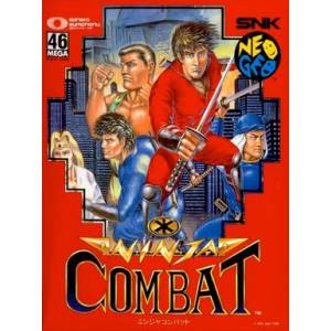 Ninja Combat [NG AES - Used Good Condition]