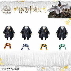Nendoroid More Harry Potter Dress Up Hogwarts Uniform - Girl Skirt Style 4Pack BOX [Nendoroid]