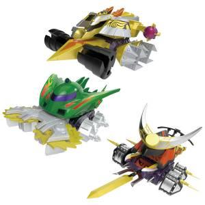 SMP [SHOKUGAN MODELING PROJECT] Crash Gear BATTLE 1-EX2 Gaiki & Dino Spartan & Gougetsu (CANDY TOY) [Bandai]