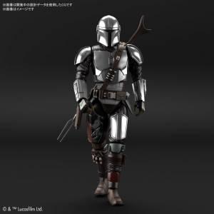 Star Wars The Mandalorian - Mandalorian Beskar Armor, Silver Coating Ver. Plastic Model [Bandai]