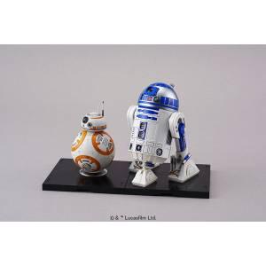Star War - BB-8 & R2-D2 1/12 Plastic Model [Bandai]