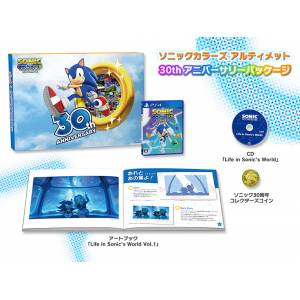 Sonic Colors Ultimate 30th Anniversary Package DX Pack [PS4]