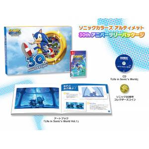 Sonic Colors Ultimate 30th Anniversary Package DX Pack [Switch]