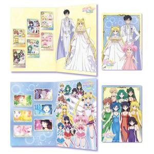 Sailor Moon Eternal Premium Carddass Collection 2 - 2 types set LIMITED EDITION [Trading Cards]