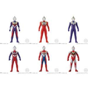 Sofubi Hero Ultraman Trigger & Ultra Heroes 10PACKS BOX CANDY TOY [Bandai]