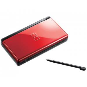 Nintendo DS Lite Crimson/ Black [occasion]