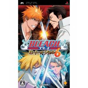 Bleach Heat The Soul 6 - 1st print [PSP]