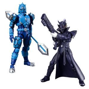SHODO-X Kamen Rider Den-O Urataros Imagine & Ryutaros Imagine Set with GUM LIMITED EDITION [Bandai]