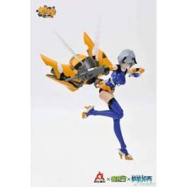 School Shock Hinabee-BEE Ruri Plastic Model 1/12 [Doyusha]