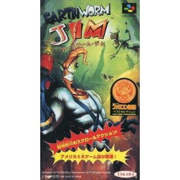 Earthworm Jim [SFC - Used Good Condition]