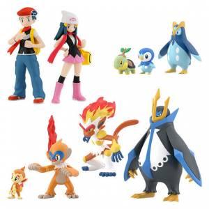 Pokemon Scale World: Sinnoh Regional - 10 PACK BOX (CANDY TOY) [Bandai]