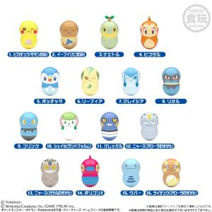 Coo'nuts Pokemon  6 - 14Pack BOX (CANDY TOY) [Bandai]