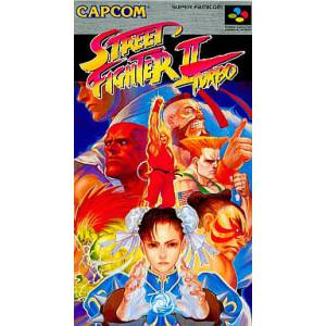 Street Fighter II Turbo - Hyper Fighting [SFC - Used Good Condition]
