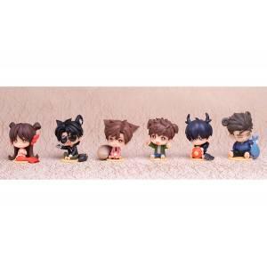 TIME RAIDERS Cute Animal Chibi Figure Series 6pack box [ Myethos ]