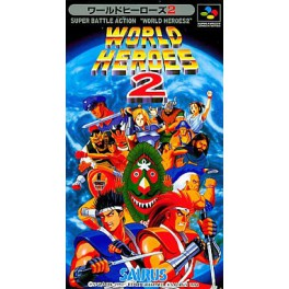 Buy World Heroes 2 Used Good Condition Super Famicom