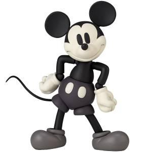 Figure Complex Movie Revo: Mickey Mouse (1936) Monochrome Ver. [Revoltech]