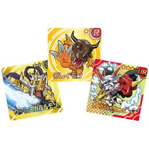 Digimon Sticker Chocolate Snack 20Pack BOX (CANDY TOY) [Bandai]