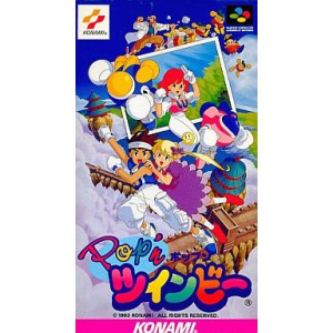 Pop'n TwinBee [SFC - Used Good Condition]