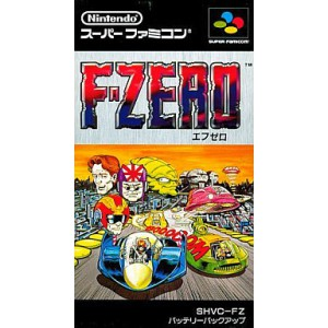 F-Zero [SFC - Used Good Condition]