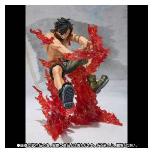 One Piece - Portgas D. Ace Battle Ver. Fire Cross - Edition Limitée [Figuarts ZERO]