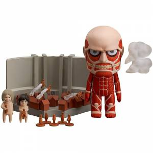 Attack on Titan / Shingeki no Kyojin - Colossal Titan & Attack on Titan Playset [Nendoroid 360]