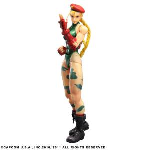 Super Street Fighter 4 - Cammy [Play Arts Kai]