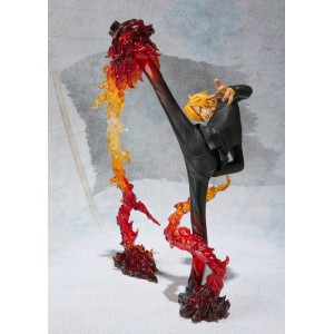 One Piece - Sanji Battle Ver. Diable Jambe Flambage Shot [Figuarts Zero]