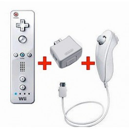 wiimote complete white neuve officielle nintendo nin nin game com all japan import. Black Bedroom Furniture Sets. Home Design Ideas
