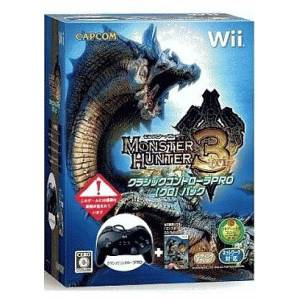 Monster Hunter 3 + Classic Controller Pro Black