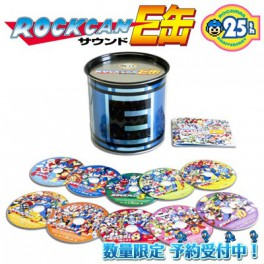Rockman / Megaman 25th Anniversary Soundtrack E Capsule - e-Capcom Limited Edition [Music CD]