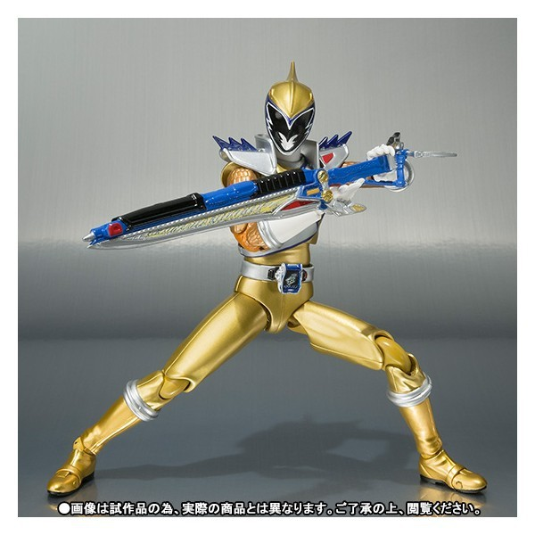 Home   FIGURES  gt  BY SERIES  gt  Zyuden Sentai Kyoryuger Kyoryu Gold    Zyuden Sentai Kyoryuger Gold