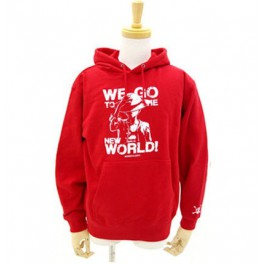 One Piece - Hoodie Red - Bandai-Namco Lalabit Market Limited Edition [Goods]