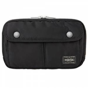 PORTER TANKER×PS Pictogram - Pouch Black for PSP(R) & PS Vita [PS Goods Store]