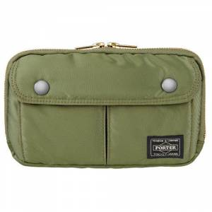 PORTER TANKER×PS Pictogram - Pouch Green for PSP(R) & PS Vita [PS Goods Store]