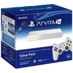 PSVita TV Value Pack - PlayStation Vita TV (VTE-1000 AA01) [new]