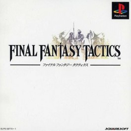 Final Fantasy Tactics [PS1 - Used Good Condition]