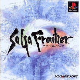 SaGa Frontier [PS1 - Used Good Condition]