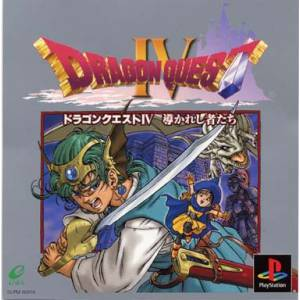 Dragon Quest IV [PS1 - Used Good Condition]