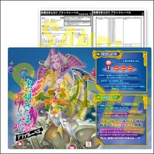 Mushihimesama Futari Black Label - Instruction Card A4